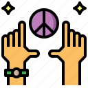 down, gestures, hands, rating, thumb, up icon