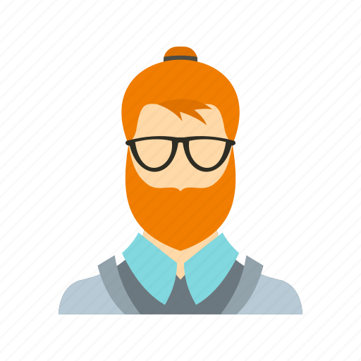 beard, character, face, fashion, hipster, male, people icon