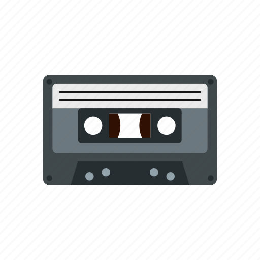 audio, cassette, melody, music, musical, note, sound icon