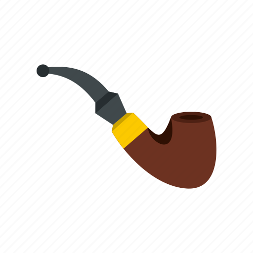 cartoon, monochrome, pipe, smoke, smoking, tobacco, vintage icon
