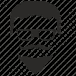 beard, hair, hipster, man, style icon