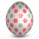 decoration, easter, egg, food icon