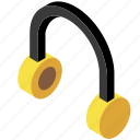 cozy life, earphones, headphones, listening, music, relaxing, song icon