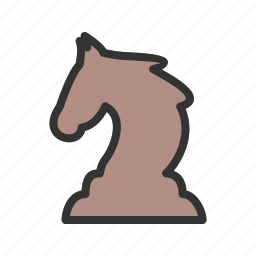 animal, beautiful, horn, horse, mammal, unicorn, wild icon