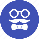 character, doodle, gentleman, glasses, hipster, set, style icon