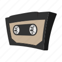 audio, cartoon, cassete, music, retro, sound, tape icon