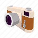 app, brown, camera, capture, cartoon, hipster, retro icon