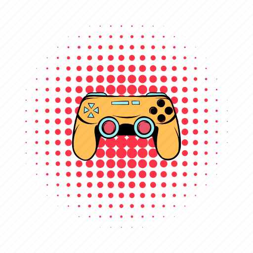 comics, console, game, joystick, play, technology, video icon