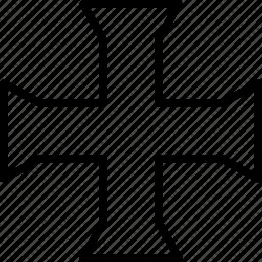 christian, cross, religious, sacral icon
