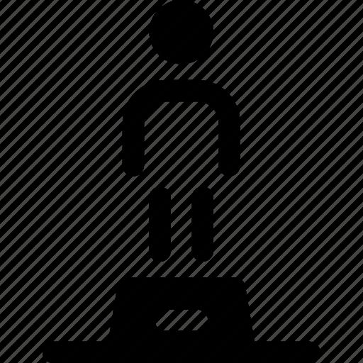 memorium, oscar, person, statue icon