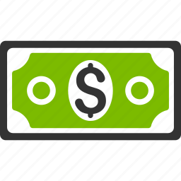 banknote, cash, dollar, finance, financial, money, payment icon