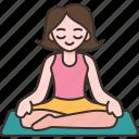 yoga, relax, meditation, fitness, health