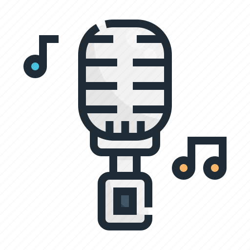 Entertainment, karaoke, microphone, music, sing, singing, sound icon - Download on Iconfinder