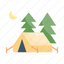 camp, camping, tent, travel