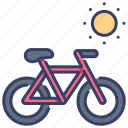 activity, bike, cycle, lifestyle, ride, sport, vehicle icon