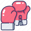 boxer, boxing, competition, fighter, punch, sport, training icon