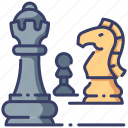 board, chess, competition, game, play, sport, strategy icon