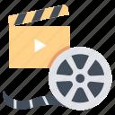 cinema, entertainment, film, movie, show, theater, video icon