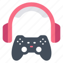 console, controller, game, gaming, headphones, play, technology