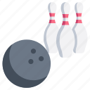 ball, bowl, bowling, game, hobby, play, sport icon