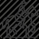 horse, riding, equestrian, sport