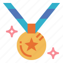 competition, medal, sport, winner icon