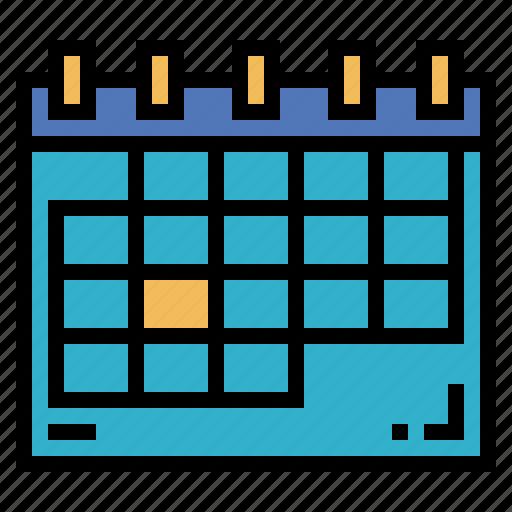 calendar, clock, date, time icon