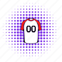 clothes, comics, game, shirt, sport, team, uniform icon