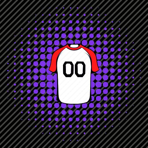 clothes, comics, game, shirt, sport, team, uniform icon