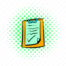 agreement, business, comics, contract, deal, document, paper icon
