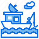 boat, fishing, gps, hobby, sea, ship icon