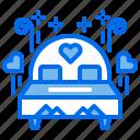 bed, honeymoon, love, marriage, wedding
