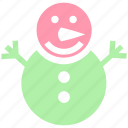 christmas, holiday, man, ornaments, season, snow, snowman