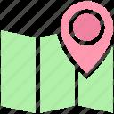 holiday, location, map, map pin, pin, tourism, vacation