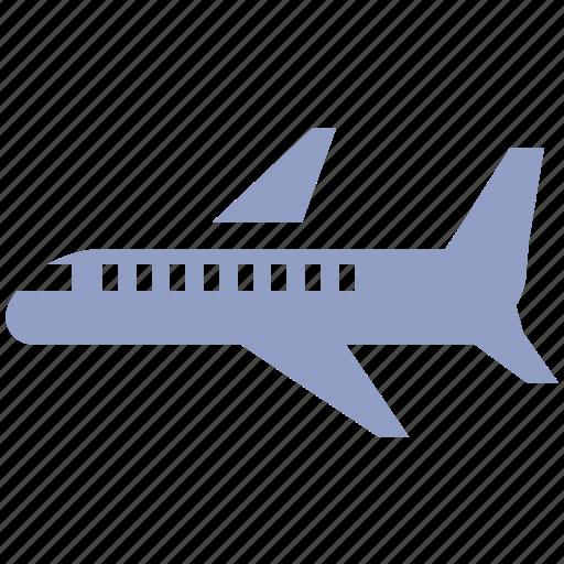 airplane, airport, flight, holiday, plane, tourism, travel icon