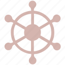 boat, handle, sail, ship, ship handle, ship wheel, wheel icon