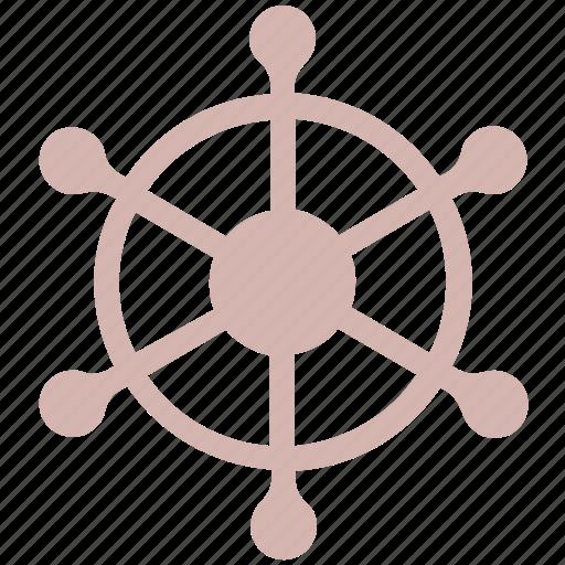 Boat, handle, sail, ship, ship handle, ship wheel, wheel icon - Download on Iconfinder