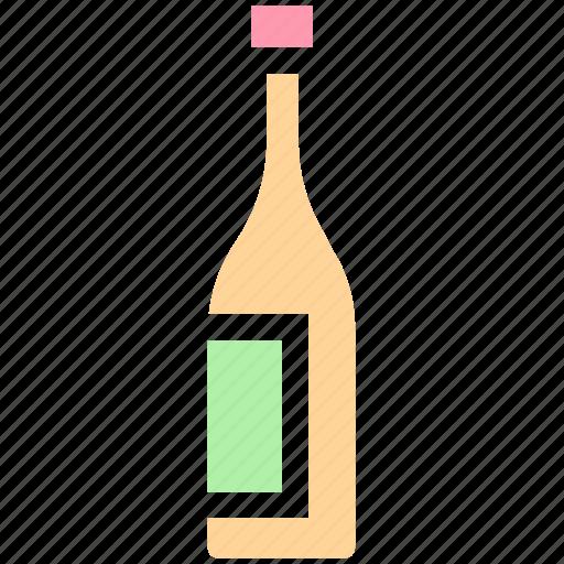 bottle, celebration, drink, french, holiday, nation, wine icon