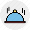 cooking, dish, holiday, plate, restaurant, service icon