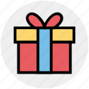 birthday gift, box, christmas, gift, gift box, holiday, present icon