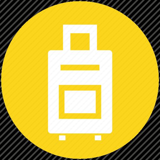 bag, briefcase, handbag, holiday, suitcase, travel, travel bag icon