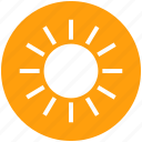 beach, holiday, summer, sun, sunshine, vacation, weather icon