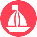 boat, holiday, sail, travel, trip, vacation, yacht icon