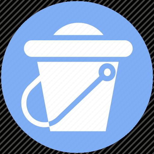 beach, beach bucket, holiday, sand, sand bucket, sandbox icon