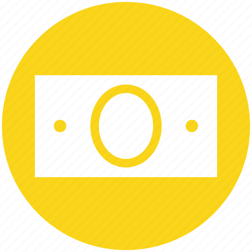 cash, currency, dollar, money, money note, note, paper note icon