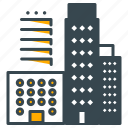 apartment, architecture, building, construction, estate, holiday, real icon