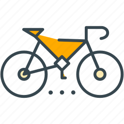 bicycle, bike, cycling, holiday, transport, travel icon