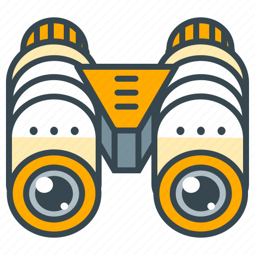 binocular, find, holiday, look, seach, view icon