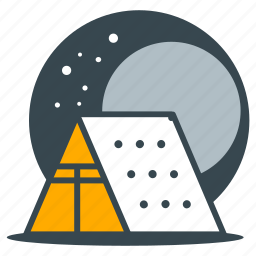 camp, camping, holiday, outdoor, outdoors, tent icon