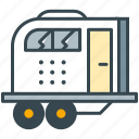 caravan, holiday, transport, travel, vehicle, wagon icon